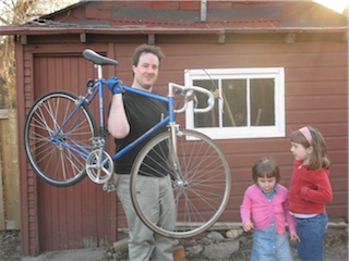 Blake and his fixie